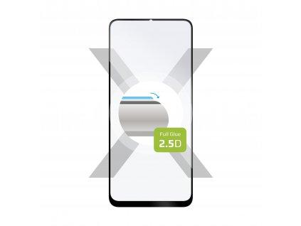Ochranné tvrzené sklo FIXED Full-Cover pro Realme 6i/C3/5, lepení přes celý displej, černé