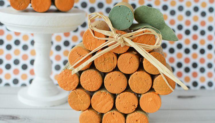 Kreatívna jeseň s korkovými dekoráciami