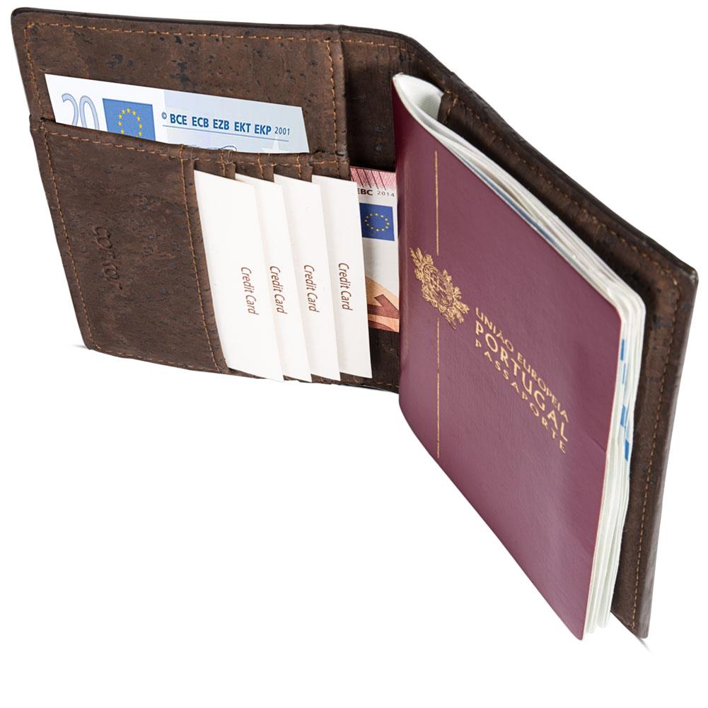 Passport-Wallet-Brown-Cork-Cards