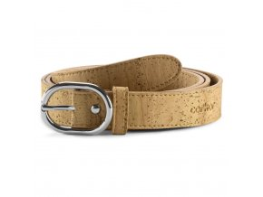 Women Cork Belt Natural front