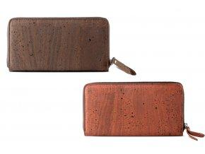 CK women cork wallet