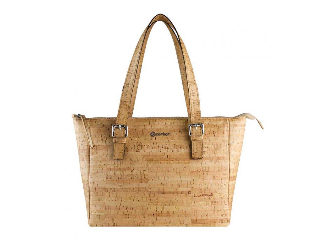 vegan satchel bag r front