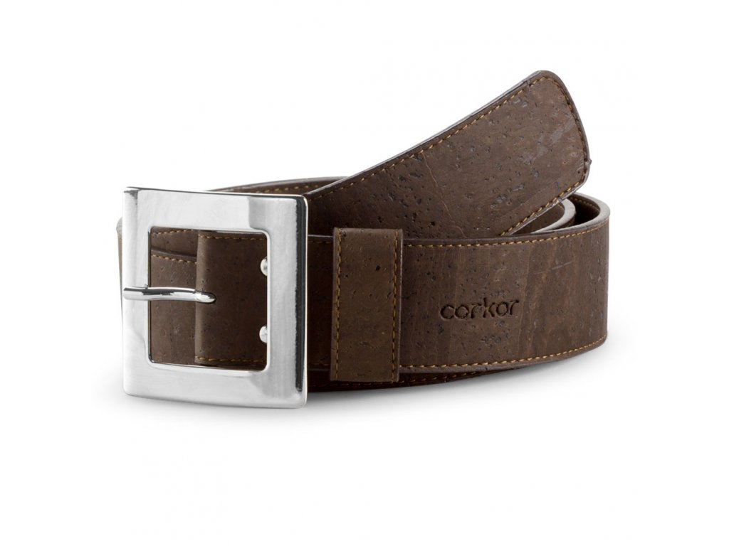 Cork Belt Brown front
