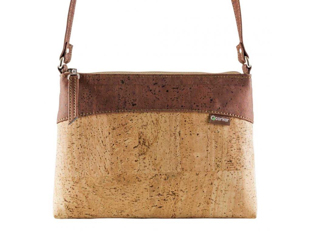 Corkor CROSS dámská korková kabelka