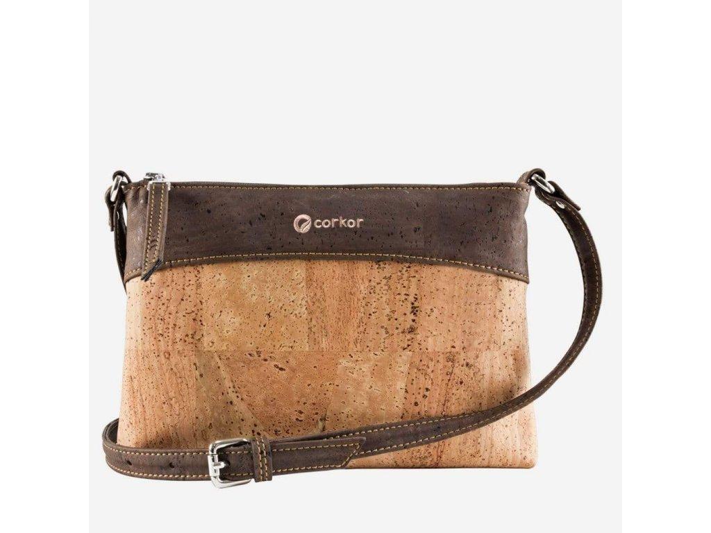 corkor vegan crossbody bag light dark brown 15063940759623 2000x