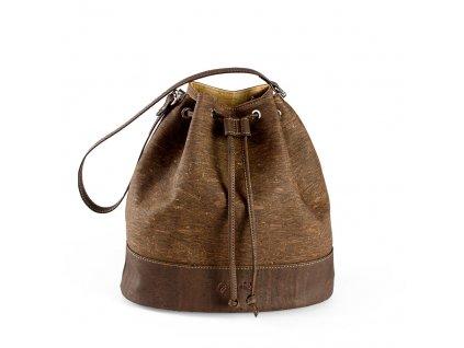 cork bucket bag tree front