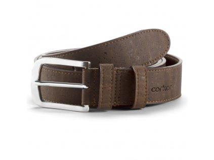 cork belt brown 35 front