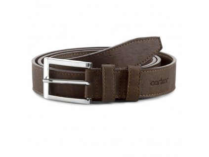 Cork belt brown 30 front