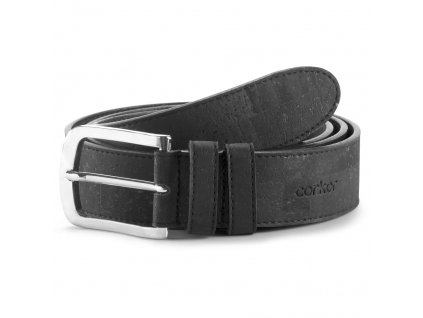 cork belt black 35 front