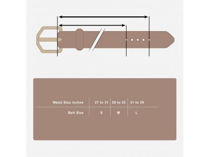 Cork Belt Natural front