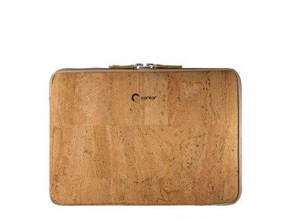 Corkor světle hnědé pouzdro na notebook 13''