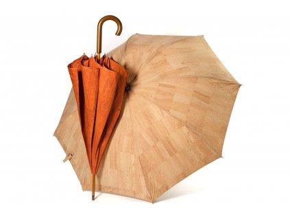 Jocork London korkový deštník