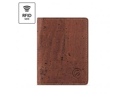 RFID Wallet Slim Red RFID Front