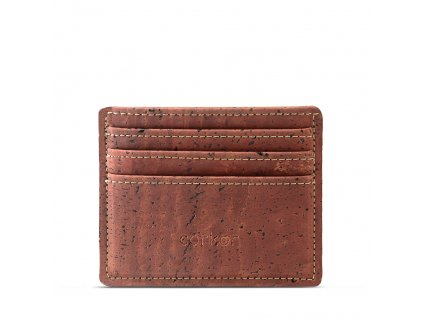 card case wallet red front