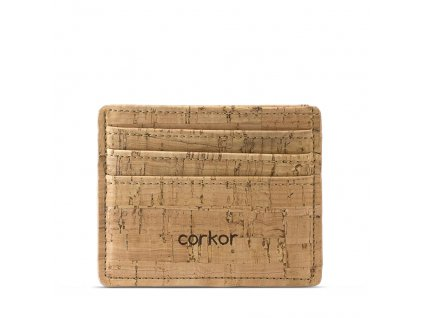 card case wallet rustic front