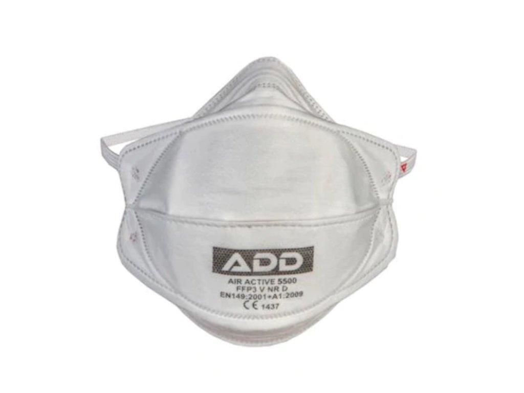 add air active respirator v polomaskovom vyhotoveni FFP3 5500 NR D