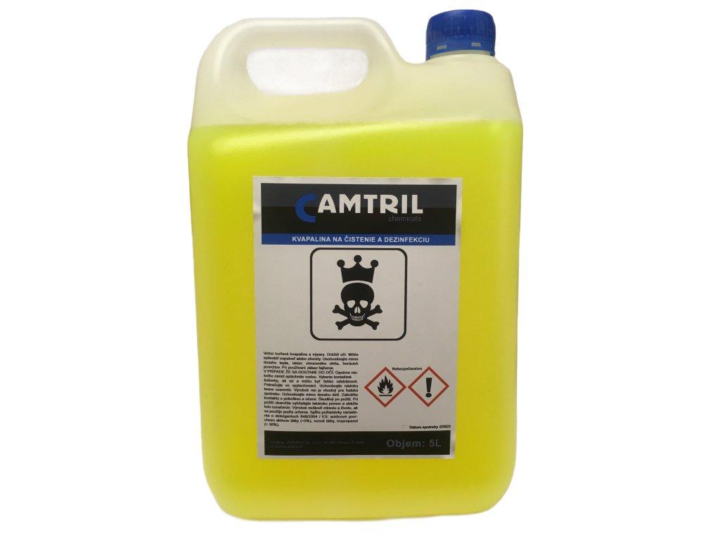 CAMTRIL dezinfekcia a leštidlo na povrchy 5l