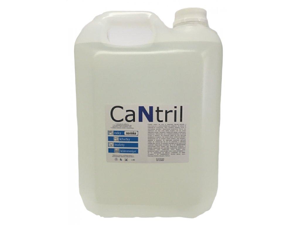 CANTRIL nemocničná dezinfekcia na ruky, klávesnicu, sanitu -5l