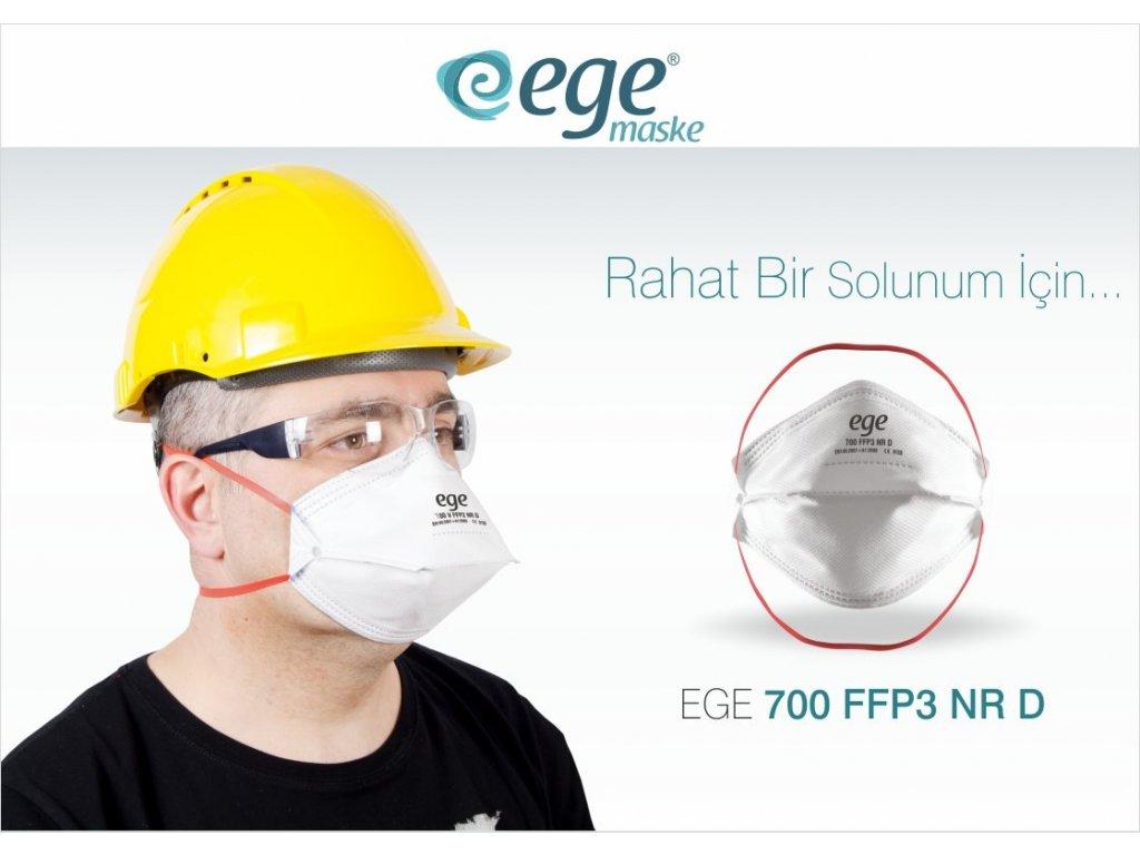 Ege Respirátor 700 FFP3 NR D