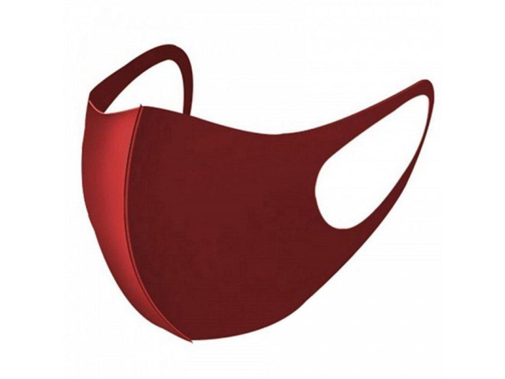 nano ochrann maska na tvar cervena ffp3