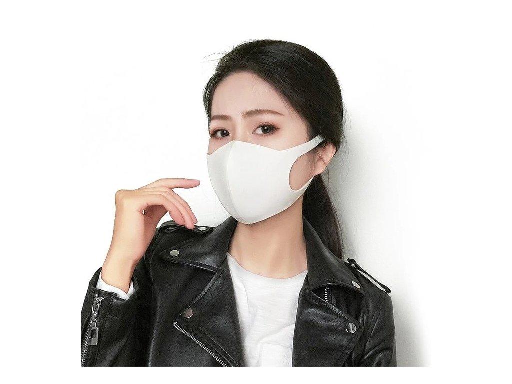 nano ochranna maska na tvar biela ffp3 corona mask (2)