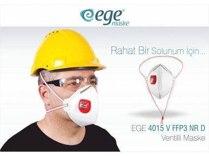 Ege Respirátor FFP3 s výdychovým ventilom
