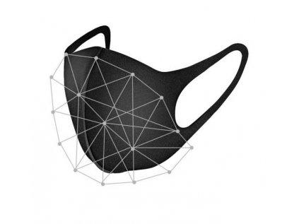 Ochranná maska na tvár FFP3 - viacnásobné použitie