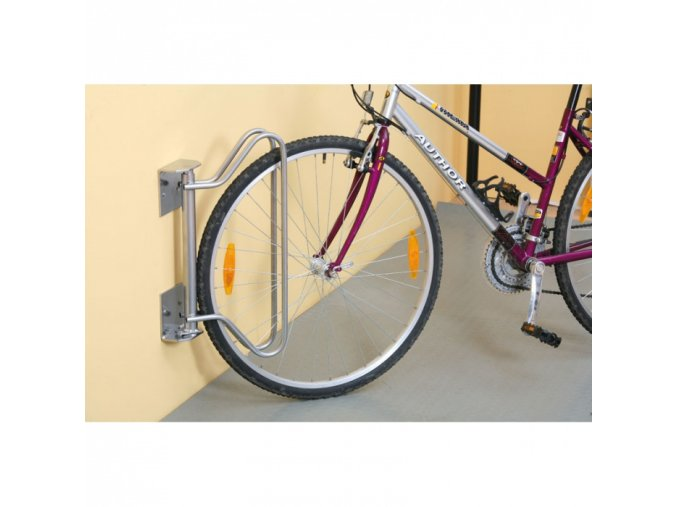 Stojan na kolo na zeď s nastavením úhlu stání