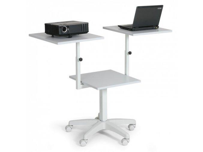 Pojízdný prezentační stolek
