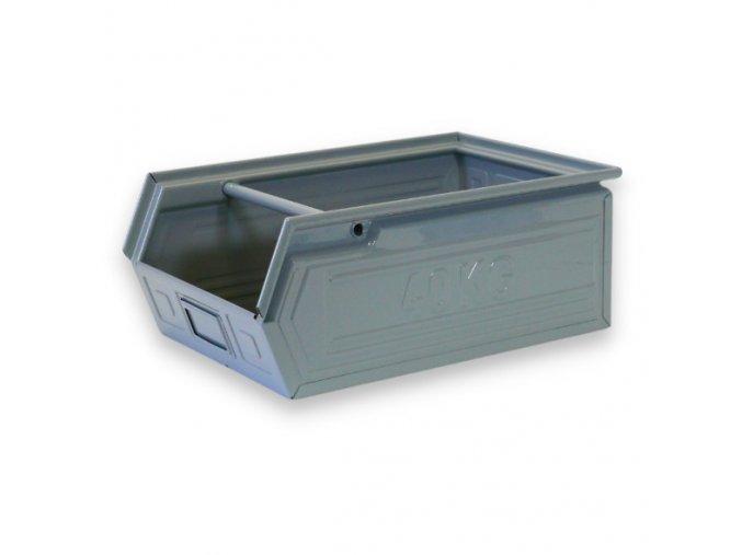 Kovové bedna - zkosená, 400 x 300 x 300 mm