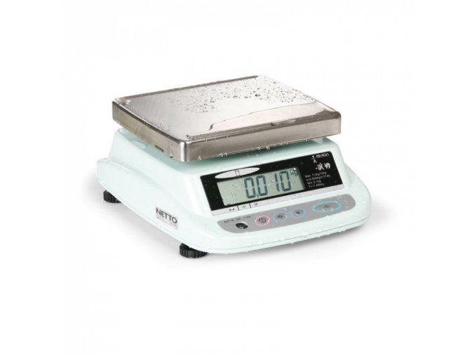 Voděodolná cejchuschopná váha ISHIDA iPC WP 3KD, 2 displeje