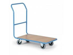 Plošinový vozík s plošinou 830x530 mm, 300 kg