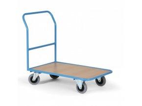 Plošinový vozík s plošinou 970x660 mm, 300 kg