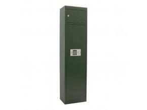 Skříň na zbraně - elektronický zámek