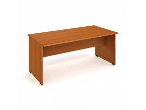 Stůl jednací rovný UNI, 1800 x 800 x 755 mm, třešeň