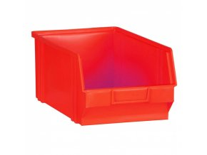 Plastové boxy, 146 x 237 x 124 mm, červené