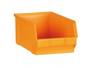 Plastové boxy, 146 x 237 x 124 mm, žlutooranžová