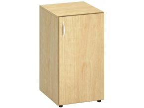 Kancelářská skříňka s pravými dveřmi CLASSIC, 400 x 470 x 735 mm, divoká hruška