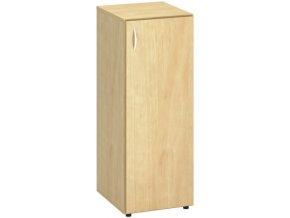 Úzká skříňka CLASSIC, 400 x 470 x 1063 mm, divoká hruška