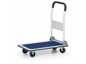 Plošinový vozík se sklopným madlem, 150 kg
