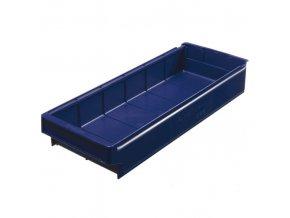 Plastová regálová přepravka SA 600 x 230 x 100 mm