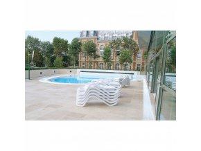 Bezpečnostní zrcadla pro bazény – exteriér