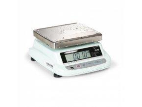 Voděodolná cejchuschopná váha ISHIDA iPC WP 15KD, 2 displeje
