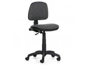 Kancelářská židle MILANO bez područek, šedá