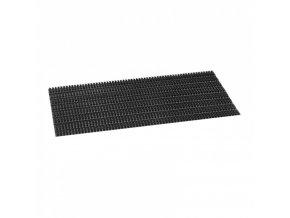 Čistící rohož, štětinky, černá, 40x60x2,3 cm bez náběhové hrany