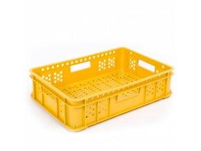 Plastová přepravka na pečivo, typ N 131-10, 600 x 400 x 135 mm