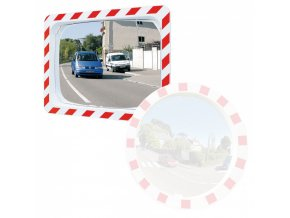 Nerozbitné dopravní zrcadlo, obdelníkové