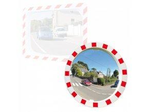 Nerozbitné dopravní zrcadlo, kruhové