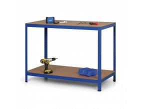 Regálový stůl, MDF police, 900x1500x600 mm, 300 kg