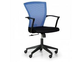 Kancelářská židle BRET, modrá